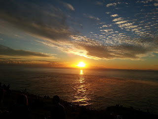 Sunset at Cape Reinga NZ