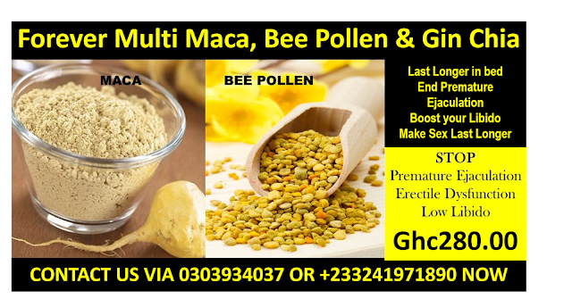 Forever Multi Maca, Bee Pollen and Gin Chia Price and where to buy in Ghana