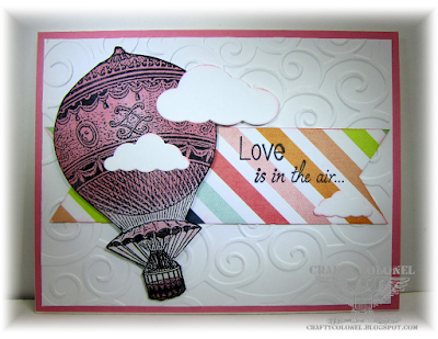 CraftyColonel Donna Nuce for Cards in Envy Challenge blog.  Club Scrap image