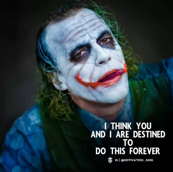Joker Attitude Quotes   joker quotes about pain   joker quotes in english Whatsapp Dp