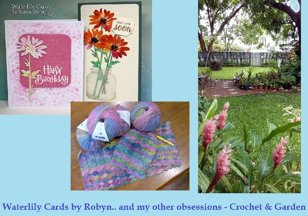 Waterlily Cards by Robyn