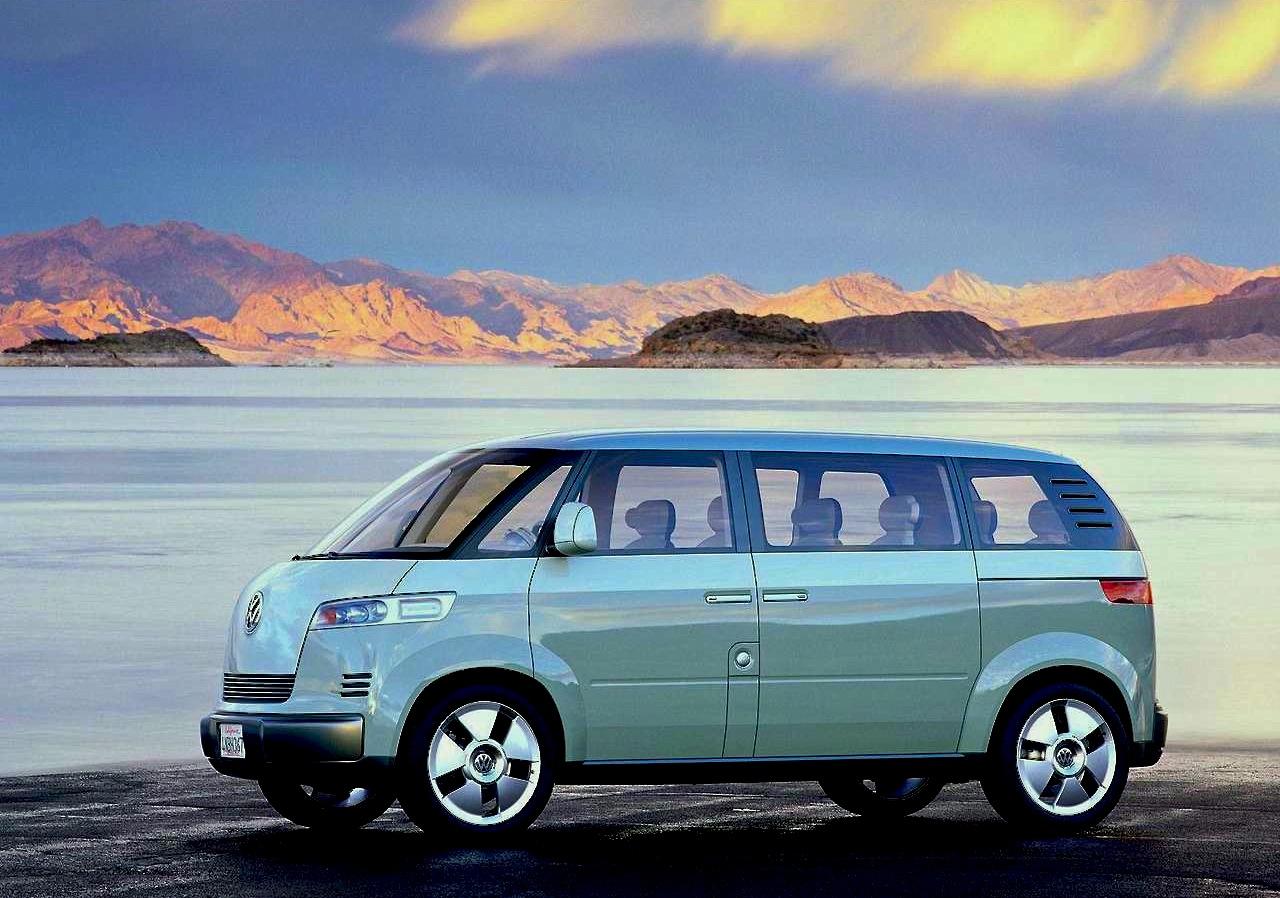 FAB WHEELS DIGEST (F.W.D.): 2001 Volkswagen Microbus Concept