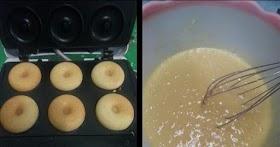 แจกสูตรโดนัทจิ๋ว เนื้อบัตเตอร์เค้ก ห๊อมหอม นุ้มมนุ่ม (สูตรนี้จะได้ประมาณ 35-40 ชิ้น)