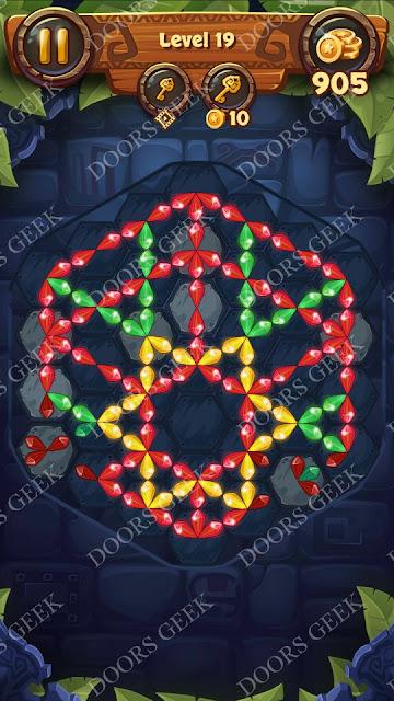 Gems & Magic [Titanium] Level 19 Solution, Walkthrough, Cheats