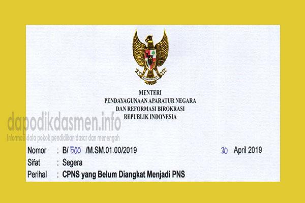 Pengangkatan CPNS Menjadi PNS (Peraturan Menpan RB). Peraturan Menpan RB Tentang Pengangkatan CPNS Menjadi PNS Tahun 2019