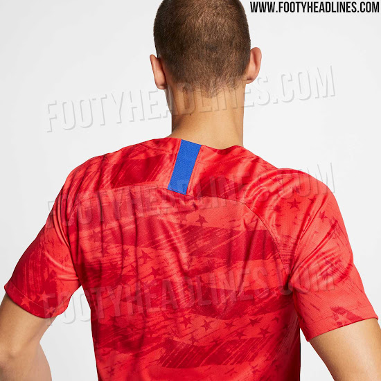 6318d7cb Nike USA 2019 Gold Cup Away Kit Released - Footy Headlines