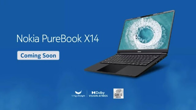 Mobile Company Nokia PureBook X14 laptop in launched in India