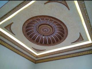 Jasa Tukang lukis Dom Masjid  Plafon Rumah di Surabaya Jawa Timur