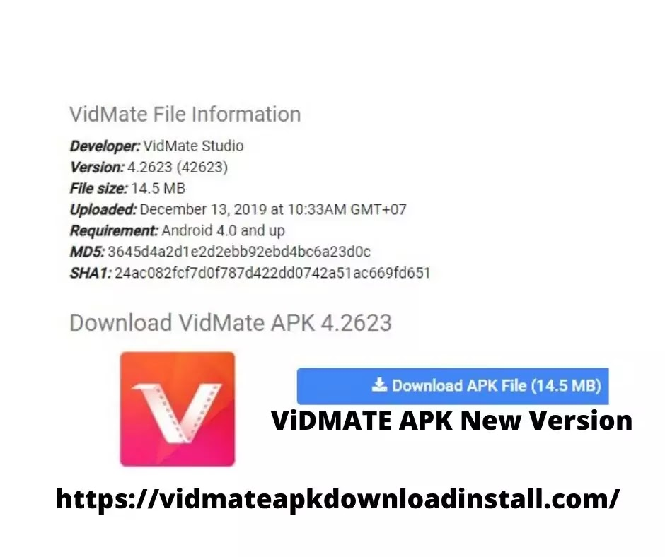 vidmate apk download new version[2020]