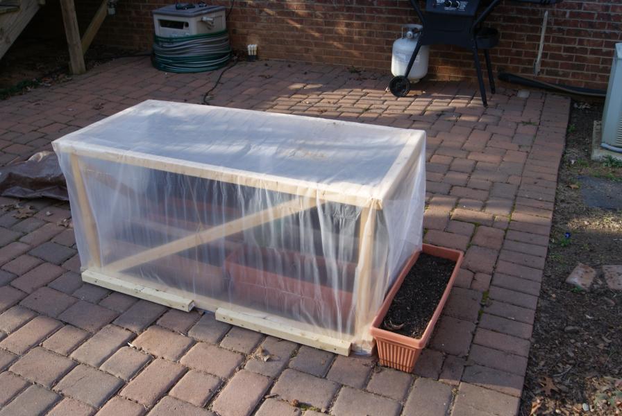 Delete The Nuts Mini Greenhouses