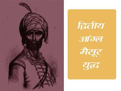 द्वितीय आंग्ल मैसूर युद्ध (1780-84) | Second Aangl Maysoor Yudh