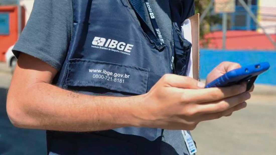 IBGE lança processo seletivo com 44 vagas temporárias em Pinhal