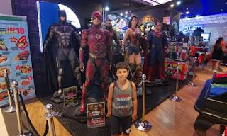 DC Super Heroes Cafe, Hotel Marina Bay Sands de Singapur.