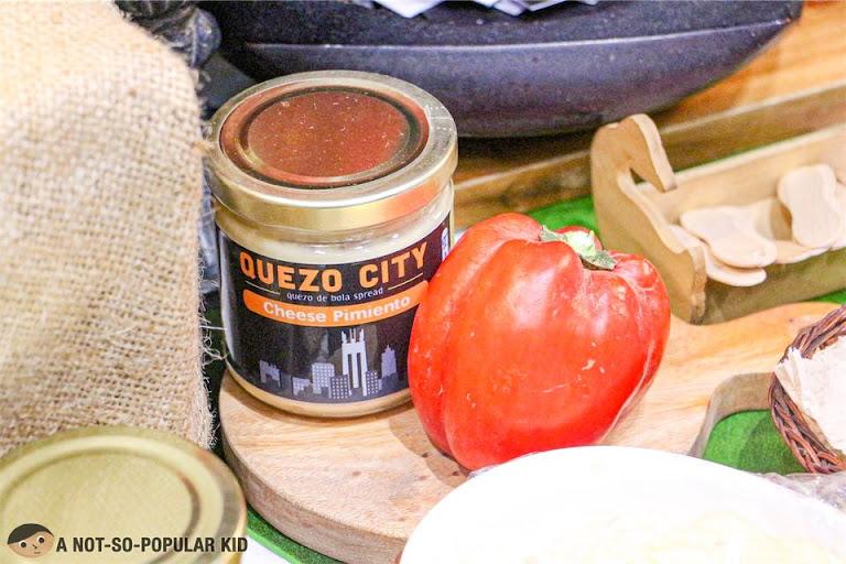 Quezo City's quezo de bola spreads