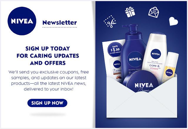 Nivea's Newsletter Comes With Samples & Coupons