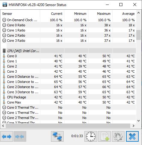 برنامج قياس درجة حرارة اللابتوب