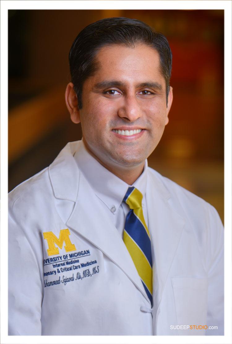 VA Hospital Michigan Medicine Doctor Physician Headshot SudeepStudio.com Ann Arbor Professional Headshot Photographer