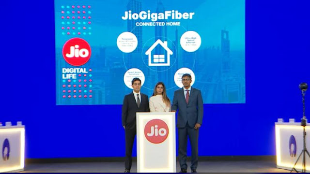 Reliance Jio Gigafiber new updates