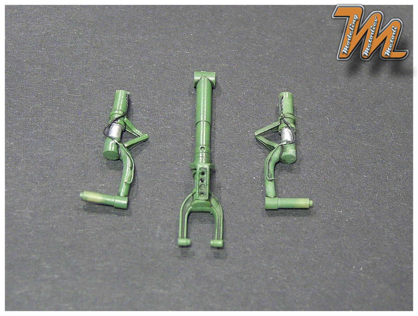 undercarriage Bell P-39Q Airacobra, USAF, Eduard 1:48