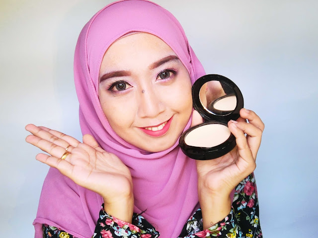 Mek View International Two Way Cake Dan Soothing Ivy Serum Untuk Makeup Sempurna