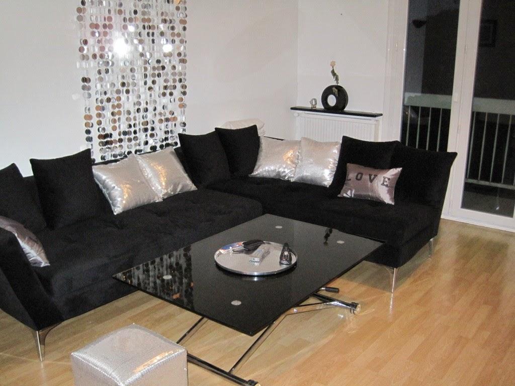 sala colores blanco negro