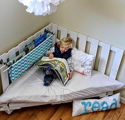 Wooden Pallets For Children's Room Decoration 1