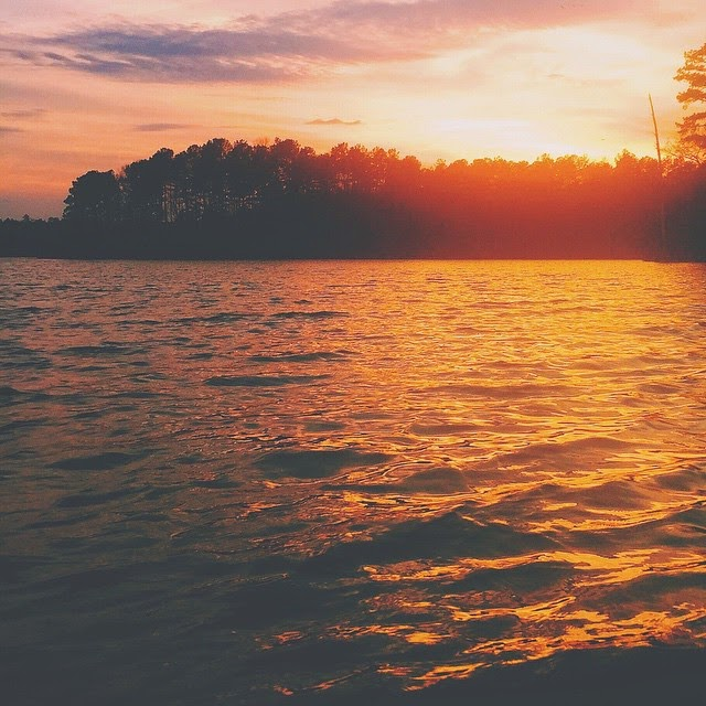 Falls Lake in Wake Forest, NC. #outaboutnc community members tell their favorite vacation spots