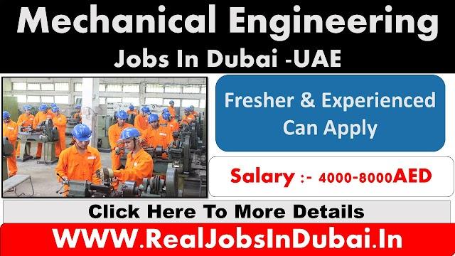 Mechanical Engineering Jobs In Dubai - UAE 2020