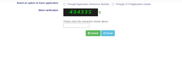 Track Application Status Seva Sindhu