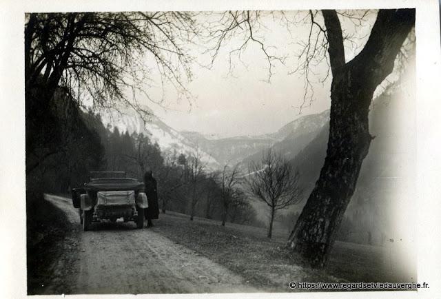 Les monts du Sancy, Auvergne, hier.