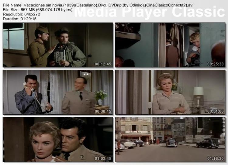 Vacaciones sin novia (1958) - Capturas