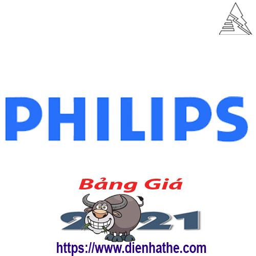 Bảng Giá Thiết Bị Điện Philips 2021