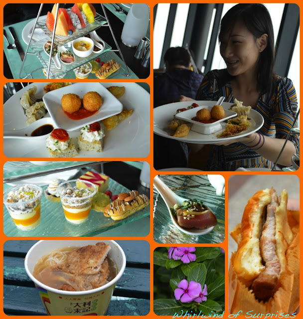 Afternoon Tea at Macau Tower, Pork Chop Bun, Macau, Travel