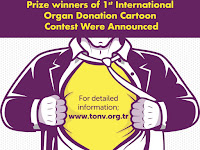 Prize Winners of 1st International Organ Donation Cartoon Contest