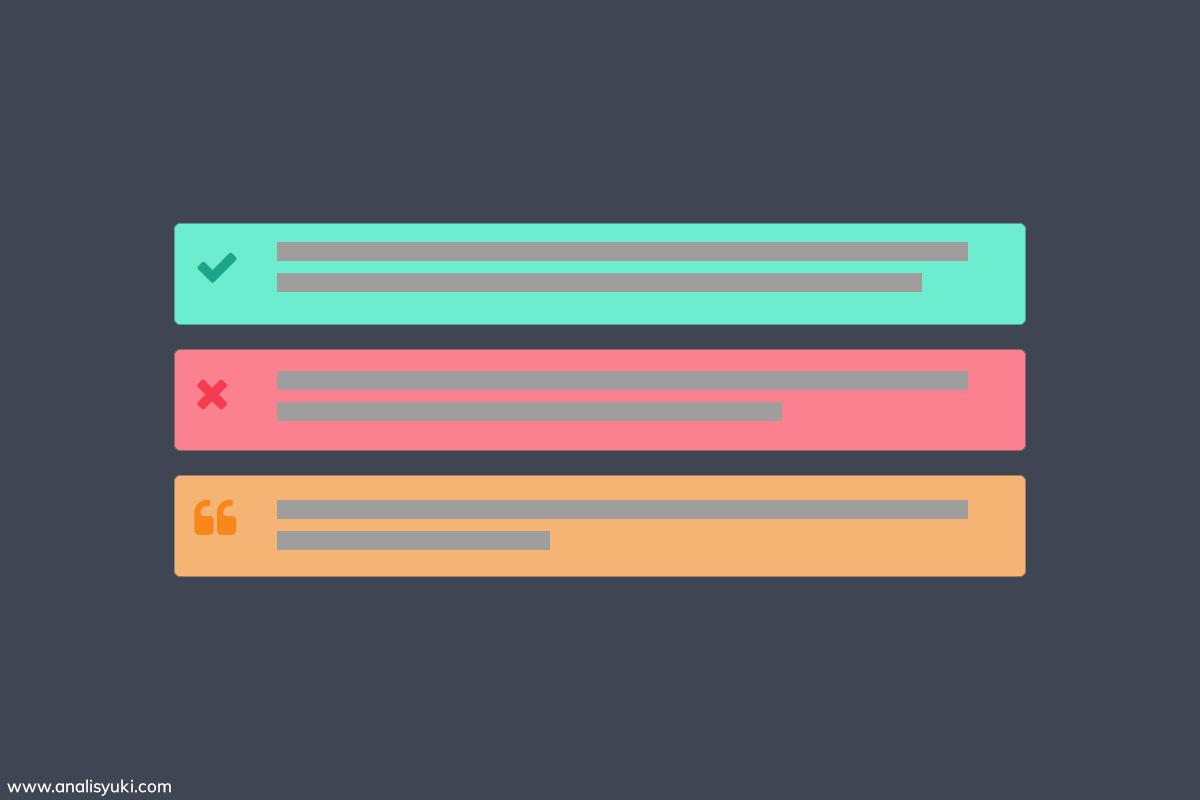 Cara Membuat Kotak Catatan Keren di Blogger