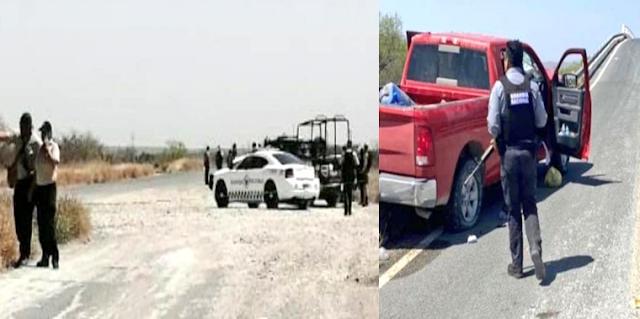 Sicarios del Cártel del Noreste emboscan a Convoy de la Guardia Nacional en Vellecillo, Nuevo León trasladaron elementos de F.R.A.R.I Grupo Élite al topón