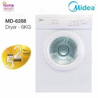 Dryer Midea Murah Lazada