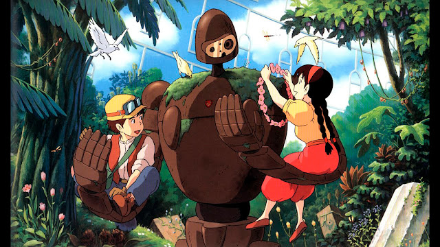 Fotograma 3 de la película de animación de Studio Ghibli, El Castillo en el Cielo