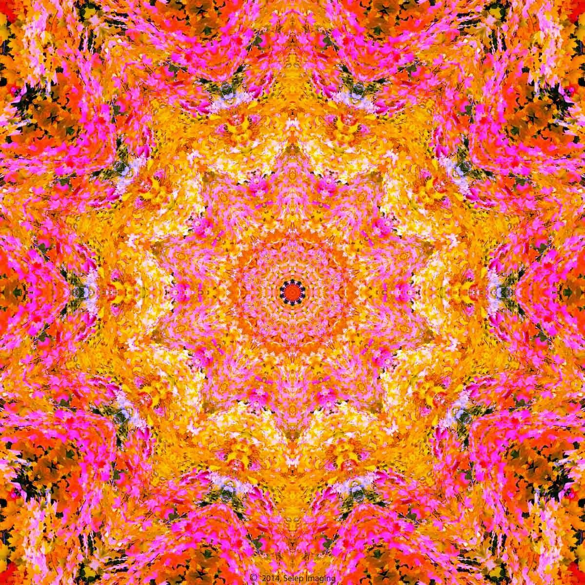 Kaleidoscope desktop background by Jeanne Selep