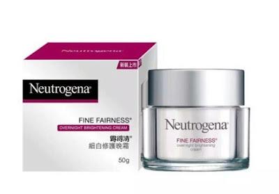 Krim malam Neutrogena - Fine Fairness Overnight Brightening Cream