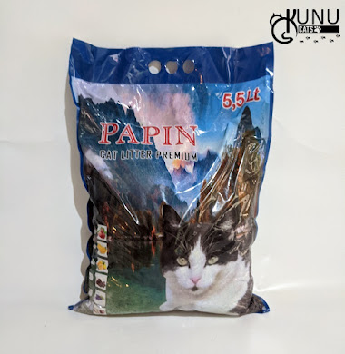Merk Pasir Kucing Gumpal Papin