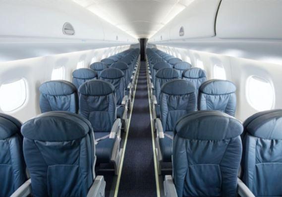 Embraer E175 Interior