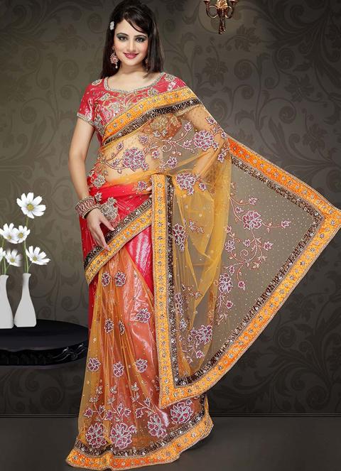 foto baju gamis sari india