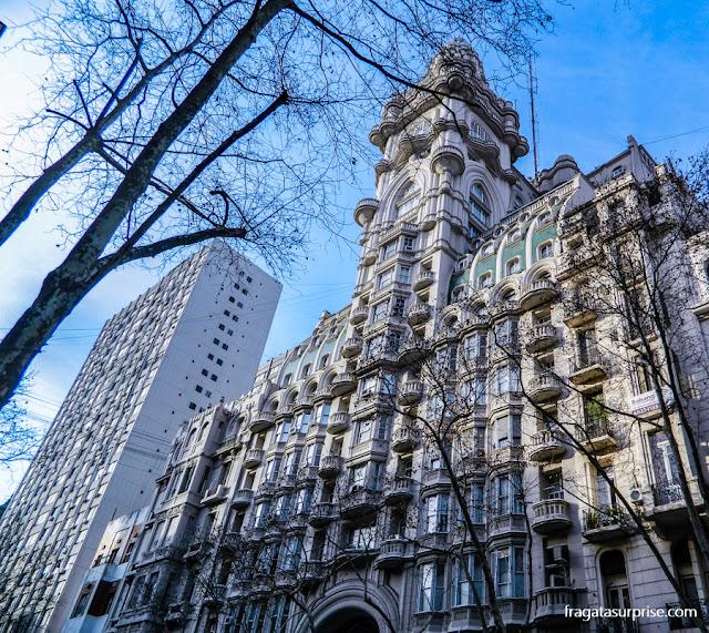Palácio Barolo, na Avenida de Mayo, Buenos Aires