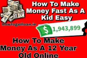 How To Make Money Fast As A Kid Easy   How To Make Money As A 12 Year Old Online
