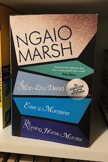 You can read Ngaio Marsh's first three Alleyn novels in one volume