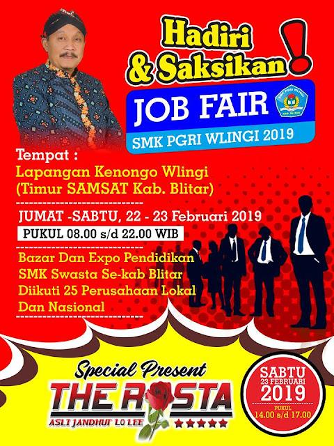 Job Fair Blitar, Jawa Timur 2019
