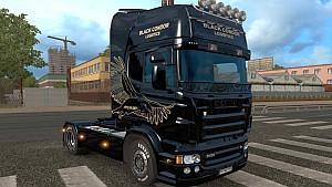 Scania RJL Black Condor Logistics