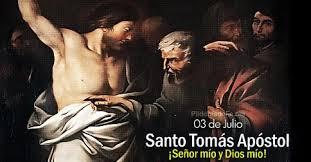 Resultado de imagen para fiesta de santo tomas apostol