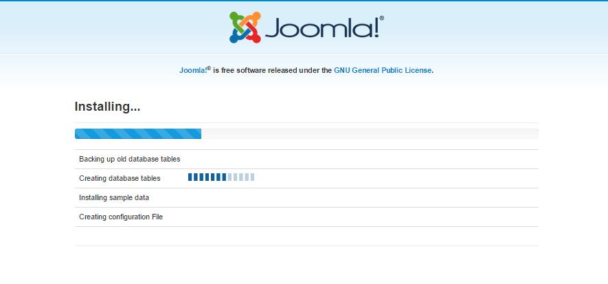 Tutorial Instal Joomla